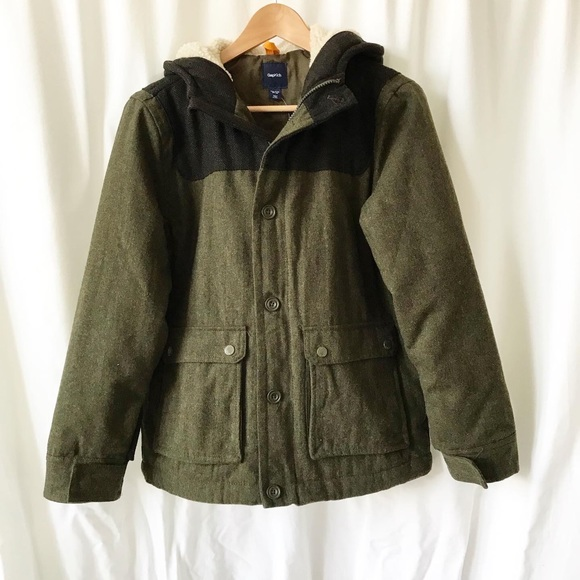 GAP Other - Gap kids NWT hooded jacket/light coat XXL(14-16Y)